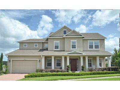 Apopka Single Family Home For Sale: 1185 Green Vista Circle