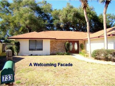 Winter Springs Single Family Home For Sale: 733 Lakeview Drive