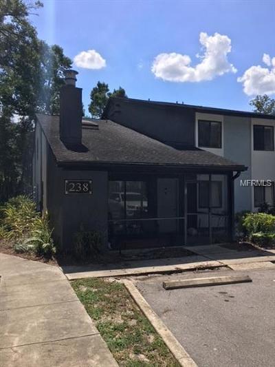 Altamonte Springs Condo For Sale: 238 Riverbend Drive #108