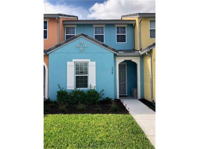 Festival Minto Resorts Townhouse For Sale: 248 Captiva Drive