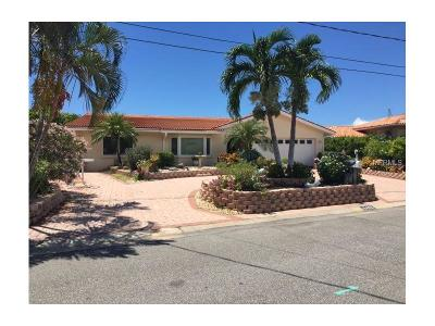St Pete Beach Single Family Home For Sale: 6412 1st Palm Point