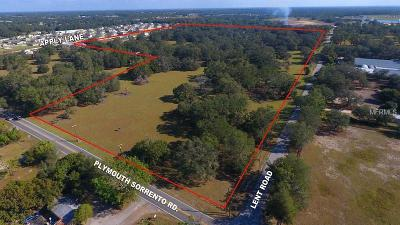 Orange County Residential Lots & Land For Sale: Lent Road
