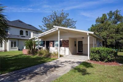 Winter Park Single Family Home For Sale: 1691 Chestnut Avenue