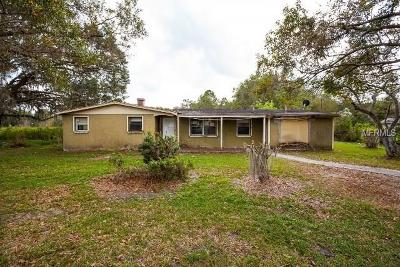 Plant City Single Family Home For Sale: 2205 Colson Road