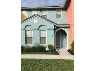 Davenport, Champions Gate Townhouse For Sale: 434 Captiva Drive