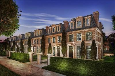 Apopka, Maitland, Orlando, Windermere, Winter Garden, Winter Park, Kissimmee Townhouse For Sale: 637 N Park Avenue