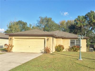 Sanford FL Single Family Home For Sale: $230,000