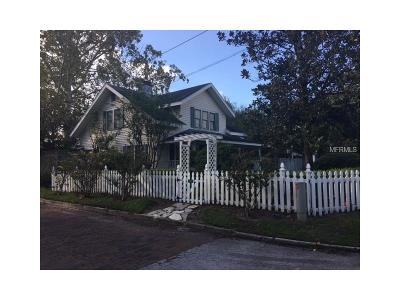 Winter Park Single Family Home For Sale: 1345 Clay Street