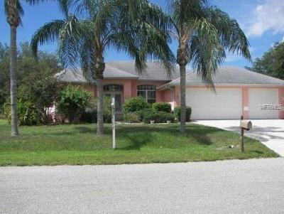Port Charlotte Single Family Home For Sale: 19359 Abhenry Circle