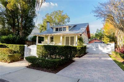 Orlando Single Family Home For Sale: 411 E Amelia Street