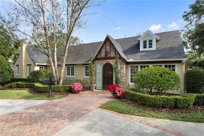 Winter Park Single Family Home For Sale: 940 Old England Avenue