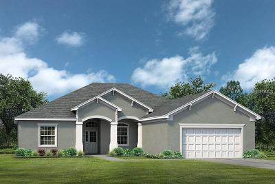 Eustis Single Family Home For Sale: 0 Tropical Drive
