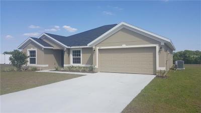Fruitland Park Single Family Home For Sale: 603 Bradley Way