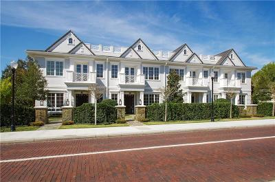 Winter Park Townhouse For Sale: 1007 S Pennsylvania Avenue #B