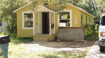 Orlando Single Family Home For Sale: 720 20th Street