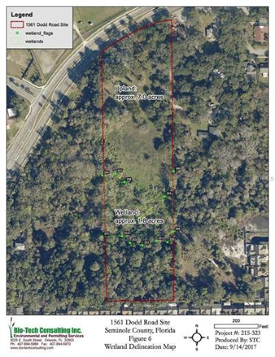 Winter Park Residential Lots & Land For Sale: 1561 Dodd Road