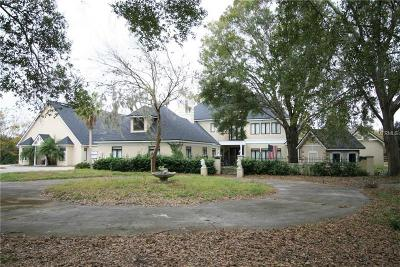 Mount Dora Single Family Home For Sale: 7703 Sadler Road
