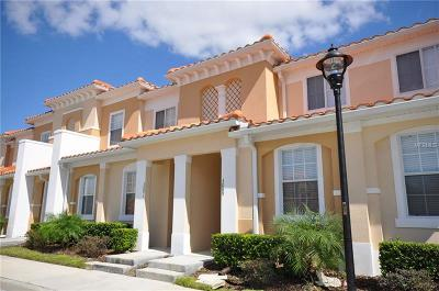 Kissimmee Townhouse For Sale: 3091 Seaview Castle Drive