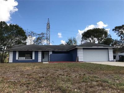 Orlando Single Family Home For Sale: 9019 Stockton Court