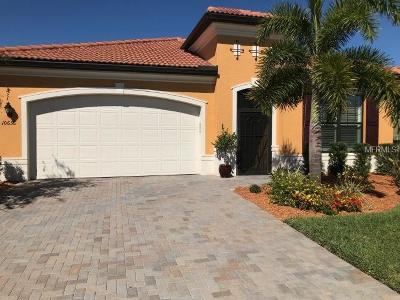 Venice Single Family Home For Sale: 10636 Corkwood Court