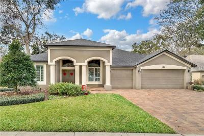 Single Family Home For Sale: 817 Palm Oak Drive
