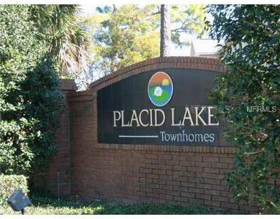 Seminole County Rental For Rent: 406 Wilton Circle #406