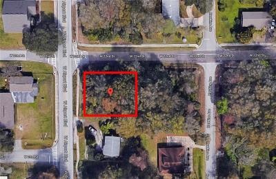 Sanford Residential Lots & Land For Sale: W 22nd Street