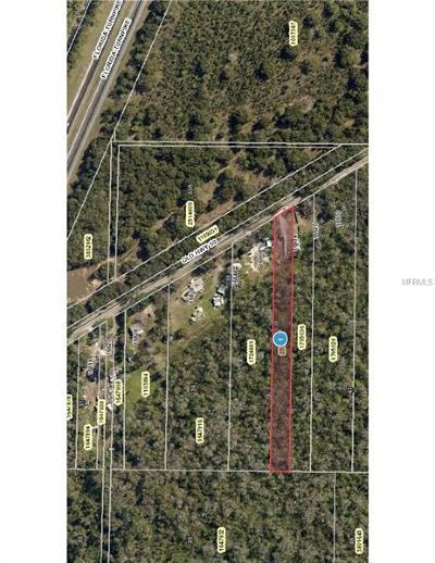 Winter Garden Residential Lots & Land For Sale: 16908 County Road 50