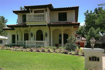 Winter Park FL Single Family Home For Sale: $1,695,000