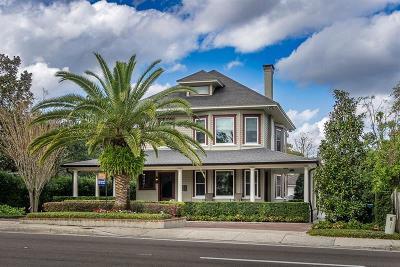 Winter Park Single Family Home For Sale: 567 Osceola Avenue