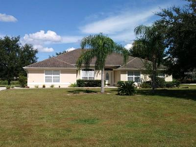 Eustis Single Family Home For Sale: 36526 Barrington Drive