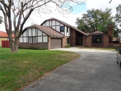 Single Family Home For Sale: 6809 Parson Brown Drive