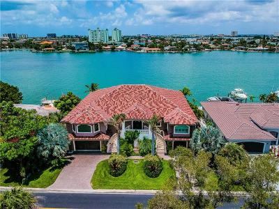 St Pete Beach Single Family Home For Sale: 343 55th Avenue