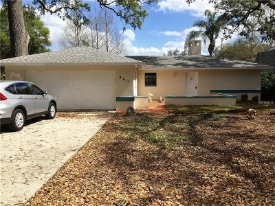 Mount Dora Single Family Home For Sale: 460 N Sunset Drive