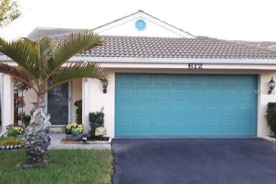 Venice Single Family Home For Sale: 612 Tyson Terrace #12