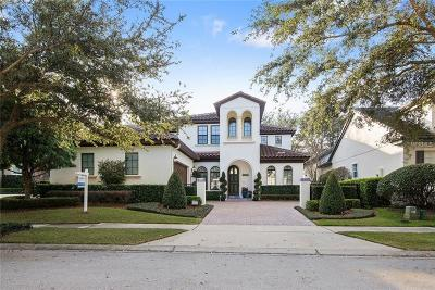 Winter Park Single Family Home For Sale: 1323 Chapman Circle