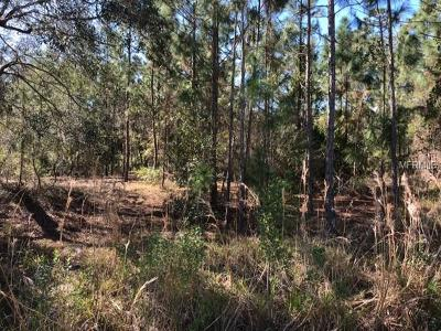 Debary FL Residential Lots & Land For Sale: $109,900
