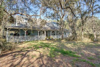 Groveland Single Family Home For Sale: 12319 Mattioda Road