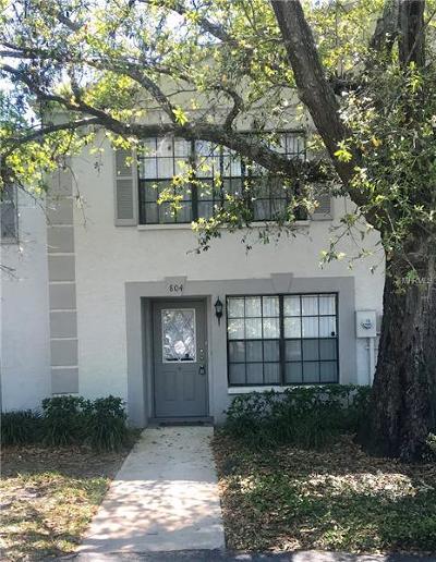 Sanford Townhouse For Sale: 804 Pine Ridge Road