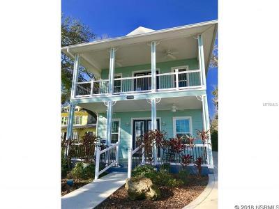 New Smyrna Beach Single Family Home For Sale: 518 N Riverside Drive