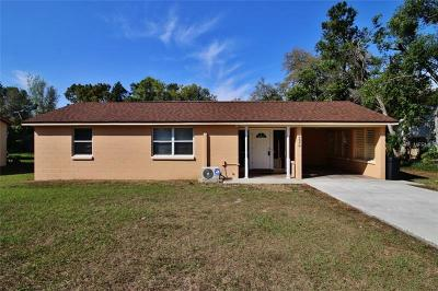 Debary Single Family Home For Sale: 226 Colomba Road