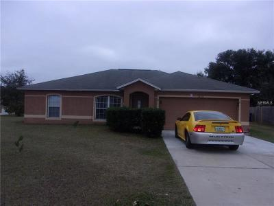 Groveland Single Family Home For Sale