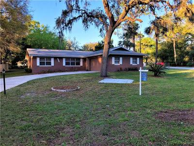 Dade City Single Family Home For Sale: 34691 Orchid Parkway