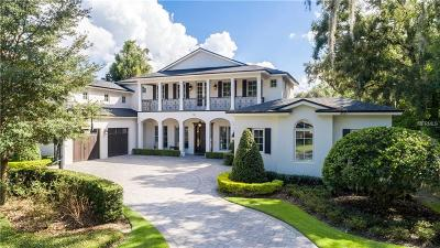 Winter Park Single Family Home For Sale: 750 Pinetree Road