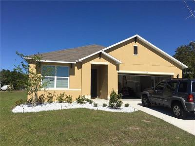 Haines City Single Family Home For Sale: 194 Tracy Court E