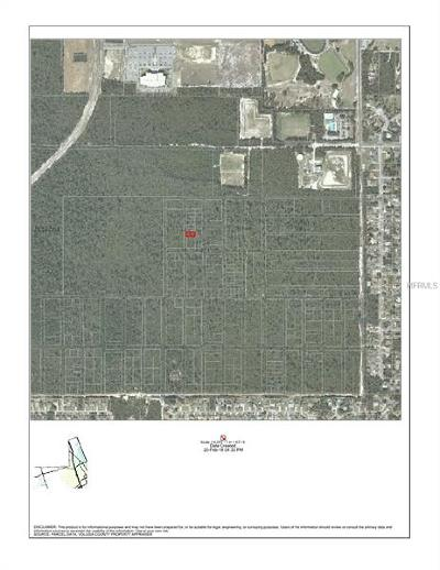 Deltona FL Residential Lots & Land For Sale: $50,000