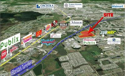 Kissimmee Residential Lots & Land For Sale: 2220 Fortune Road