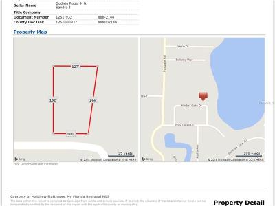 Montverde Residential Lots & Land For Sale: Lot 11 Harbar Oaks Drive