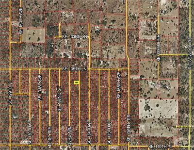 Levy County Residential Lots & Land For Sale: SE 133rd Lot 6 Terrace