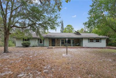 Winter Springs Single Family Home For Sale: 505 Hayes Road